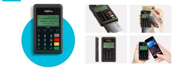 Datio Point of Sale EMV Chip Card Reader ICMP