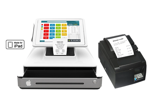 credit card reader with network kitchen printer datio point of sale base station and cash register for ipad with point of sale - Credit Card Printer