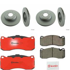 BMW 135i Brembo Brake Pads & Zimmerman Discs Kit #2