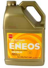 Eneos 5w-40 European Formula Fully Synthetic Engine Oil 5 Quarts