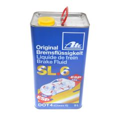 Brake Fluid ATE Dot 4 Amber ISO Class 6 Low Viscosity Wet Boiling Point 175C 5L