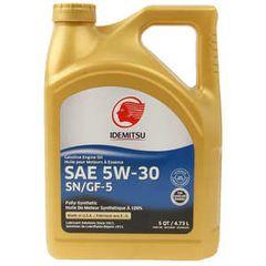 Idemitsu 5w-30 Asian Formula Fully Synthetic SN/GF5 Engine Oil 5 Quarts