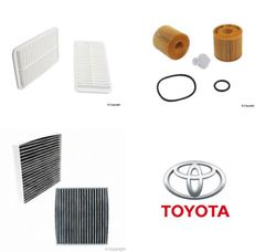 Lot of 2 Air, Oil & Cabin Filter Kit fits Toyota Highlander 2009-2013 #2