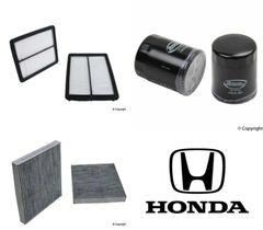 Lot of 2 Kits Air, Oil & Cabin Filter Kit fits Honda Accord 6cyl 2008-2012 #15E6