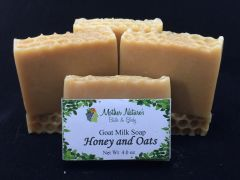 Honey and Oats Goat Milk Soap