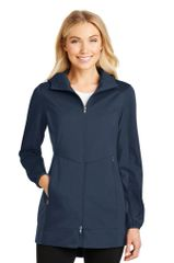 NCA Staff Ladies Active Hooded Soft Shell Jacket