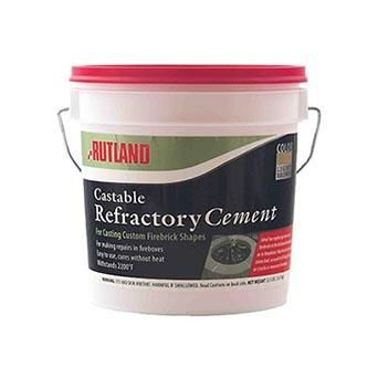 Rutland Castable Refractory Cement 1 Gal Shopfireside