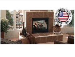 Outdoor Lifestyles Twilight II Indoor/Outdoor Vent Free Gas Fireplace