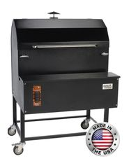 "Smokin Brothers 72"" Light Commercial Pellet Grill"