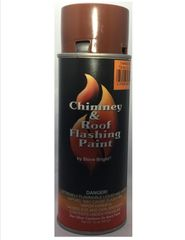 Stove Bright Fireplace Paint - Terra Cotta Paint