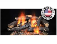 Fireside Supreme Oak Gas Log Kit