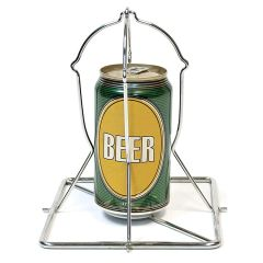 The Big Green Egg Beer Can Chicken Rack
