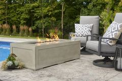 Outdoor GreatRoom Company Cove Linear Fire Pit