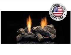 Monessen Vent Free Natural Blaze See-Through Gas Log Set