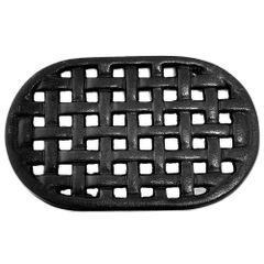 5 3/4 x 9 1/4 I Cast Iron Oval Trivet