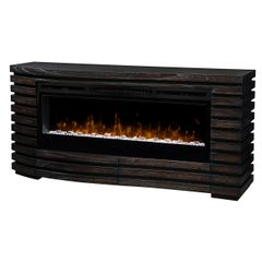 Dimplex Elliot Electric Fireplace Set w/Glass Ember Bed