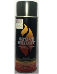 Stove Bright Fireplace Paint - Forest Green