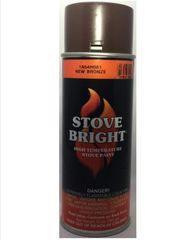 Stove Bright Fireplace Paint - New Bronze