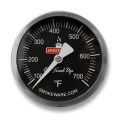 Oversized Temperature Gauge for The Big Green Egg by SmokeWare