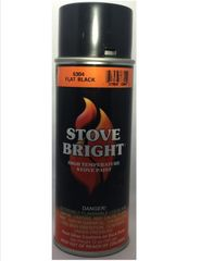 Stove Bright Fireplace Paint - Flat Black