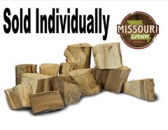 Chopped Chunk of Pecan Wood
