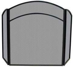 Uniflame 3 Panel Arch Fireplace Screen