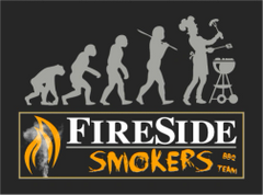 Fireside Smokers BBQ Team T-Shirt