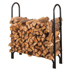 "45"" Log Rack - Wood"