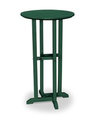 """Polywood 24"""" Traditional Round Bar Table"""