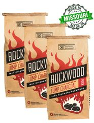 Rockwood Lump Charcoal 60lb Pack