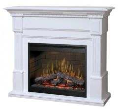 Dimplex Essex Electric Fireplace Set w/Logs