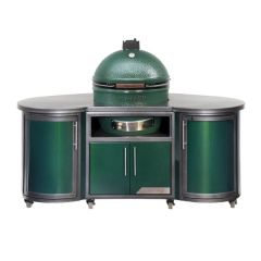 Challenger Designs Cooking Island for The Big Green Egg