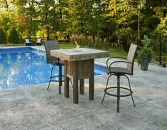 Outdoor GreatRoom Company Westport Fire Pit Table