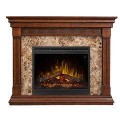 Dimplex Alcott Electric Fireplace Set w/Logs