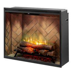 "Dimplex Revillusion Portrait 36"" Electric Firebox"