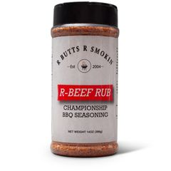 R Butts R Smokin' Beef Rub