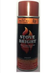 Stove Bright Fireplace Paint - Mojave Red