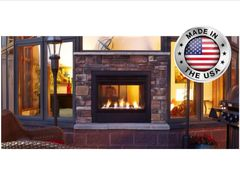 Outdoor Lifestyles Indoor/Outdoor Twilight II Modern Edition Vent Free Gas Fireplace