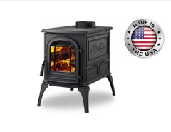 Vermont Castings Aspen Wood Stove in Classic Black