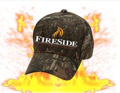 Fireside Cap in Mossy Oak Camouflage