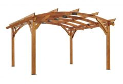 Outdoor GreatRoom Sonoma Pergola (16' x 16')