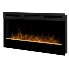 "Dimplex Wickson 34"" Electric Wall Mount Fireplace"