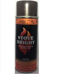 Stove Bright Fireplace Paint - Honeyglow Brown