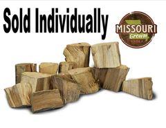 Chopped Chunk of Hickory Wood