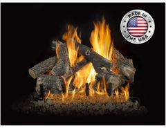 Arizona Weathered Oak HOT Series Gas Logs by Grand Canyon