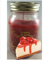Cherry Cheese Cake Candle