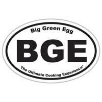 The Big Green Egg Oval Sticker***Limited Edition***