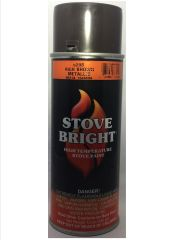 Stove Bright Fireplace Paint - Rich Brown Metallic