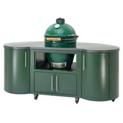 "The Big Green EGG 76"" Cooking Island"