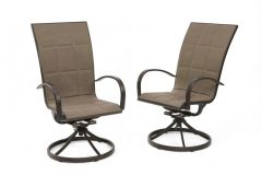 Outdoor GreatRoom Company Empire Dining Chairs (Set of 2)